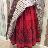 Refajo de lana estampado